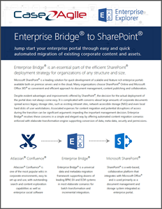 Enterprise Bridge to SharePoint Booklet